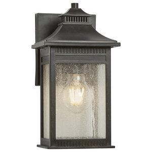1-Light Small Wall Lantern, Imperial Bronze