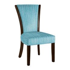 Hekman Woodmark Bethany Dining Chair Light Blue