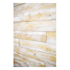 """White Shiplap Wall, Farmhouse, 24"""" 48"""" 72"""" Pre-Cut Length, 25 sq.ft."""
