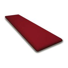 Seat Cushion, Logo Red