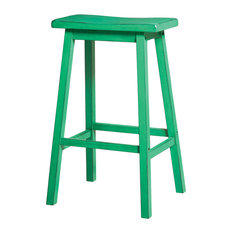 Gaucho Stools Set Of 2 Green Bar Height