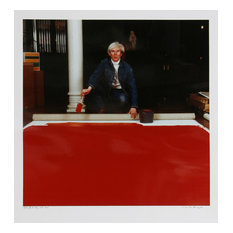 """Curtis Knapp """"Andy Warhol Red Series 1"""" Color Photograph"""