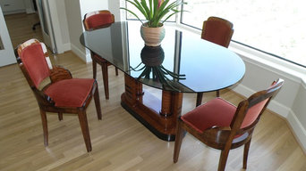 Asymmetric Modernist, Contemporary or Art Deco Breakfast Table