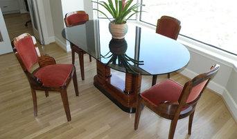 Asymmetric Modernist, Contemporary or Art Deco Breakfast Table