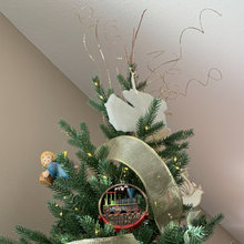 my one-of-a-kind Christmas ornament collection
