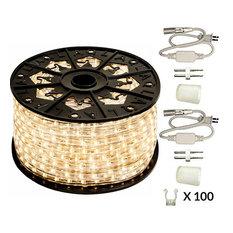 120V Dimmable LED Warm White Rope Light Kit, 513PRO Series, Premium