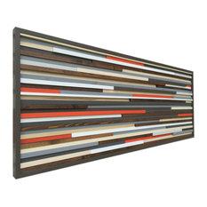 "Reclaimed Wood Wall Art, 24""x60"""