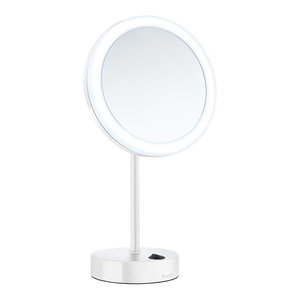 Led Free Standing Mirror Transitional Floor Mirrors