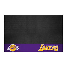 "FANMATS - NBA Los Angeles Lakers Grill Mat 26""x42"" - Grill Tools & Accessories"