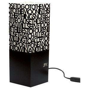 JFK Speech Paper Table Lamp