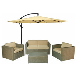 Cute Tropical Outdoor Lounge Sets by Build