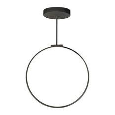 Kuzco Cirque LED Pendant PD82524-BK - Black