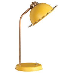 Bauhaus Desk Lamp, Ochre