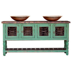Farmhouse Bathroom Vanities And Sink Consoles by FoxDen Decor