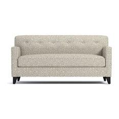 Harrison Apartment Size Sofa Straw 54-inchx36-inchx35-inch