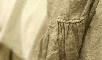 Linen ruffle