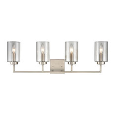 West End 4-Light Vanity Light in Brushed Nickel