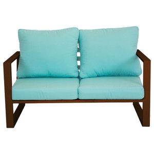 Outdoor Bolonia Sofa, Bronze