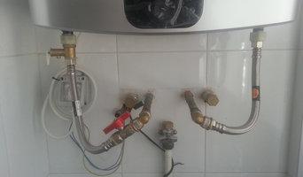 Instalación de termos electrico