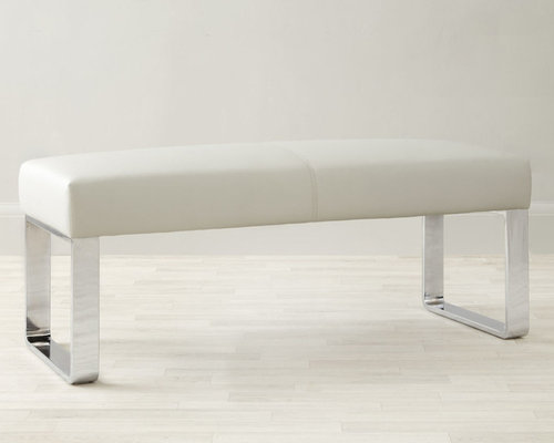 Loop 2 Seater Bench Without Backrest In Cool Grey   Dining Benches