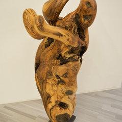 Skulptur Art d' Olive (Les trois Amis)