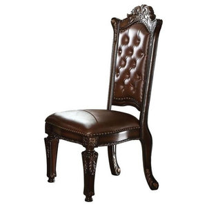 Acme Vendome Side Chairs, Set of 2, Cherry