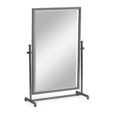 Tilt Dressing Table Mirror, Bronzed Stainless
