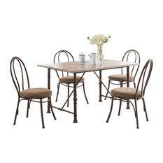 Pilaster Designs   Celine 5 Piece Dining Set   Dining Sets