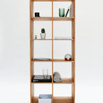 MASHstudios - LAXseries Bookcase - Browse titles easily on this clean, compartmentalized bookshelf. The compact design makes it perfect for utilizing the most out of the smallest of spaces. Roomy cubbies make storing everything from books and chotchkies to vinyl records a breeze.