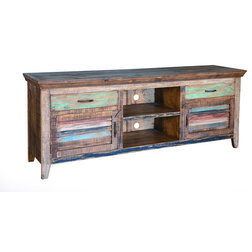 Rustic Entertainment Centers And Tv Stands by QUETZAL & COATL, LLC