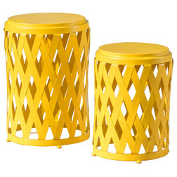 Contemporary Outdoor Side Tables by GDFStudio