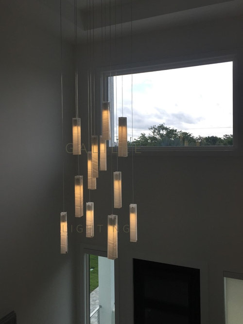 White Candles Chandelier Custom Art Gl Large Dining Chandeliers