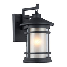 Black Outdoor Wall Light outdoor wall lights and sconces | houzz