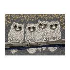 Liora Manne Frontporch Owls Indoor/Outdoor Rug Night 2