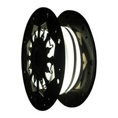 24V LED Single Sided Flexible Neon Rope Light - 39ft Spool, Soft White