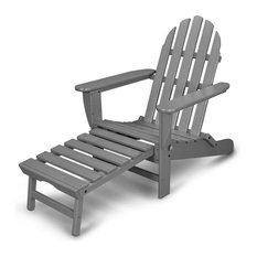 Ivy Terrace Classics Ultimate Adirondack Chair, Slate Grey