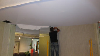 Cover Popcorn Ceiling in Loby ceiling