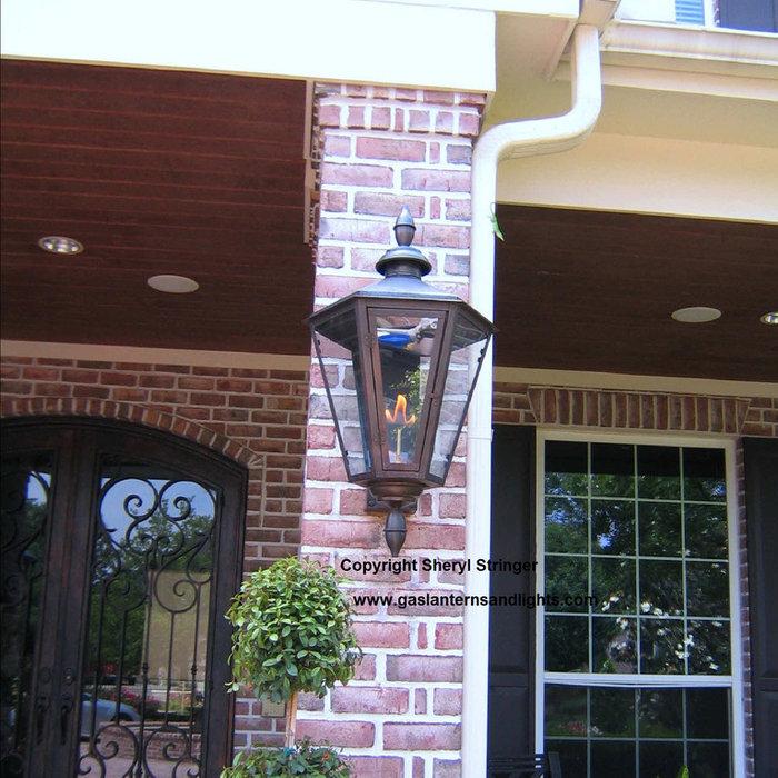 Sheryl's Antoine Gas Lantern