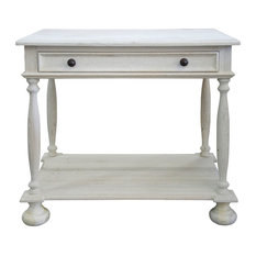 Washed Oak Nightstand 12-inch by CFC