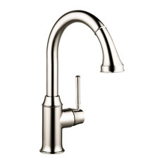 Hansgrohe Talis C Higharc Kitchen Faucet, 1.75GPM Polished Nickel