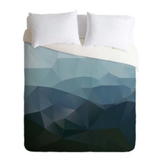 Deny Designs - Deny Designs Three Of The Possessed First Light Duvet Cover - Lightweight - Duvet Covers and Duvet Sets