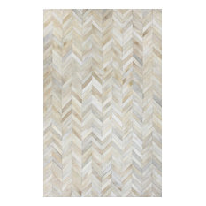 Bashian Albion Area Rug, White, 8'x10'