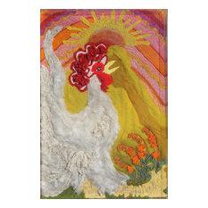 Joyce Glassberg, Creation, The Seventh Day, Weaving