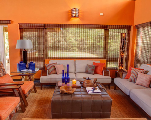 rustic orange living room rustic living room design ideas remodels amp photos with 13983