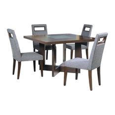 Allan Copley Bridget Dining Table, Dark Wenge