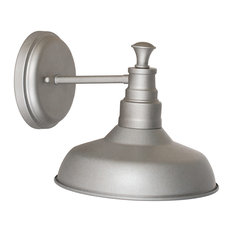 Design House - Kimball 1-Light Wall Mount Galvanized - Wall Sconces