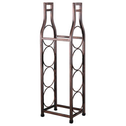 Transitional Wine Racks by Pilaster Designs
