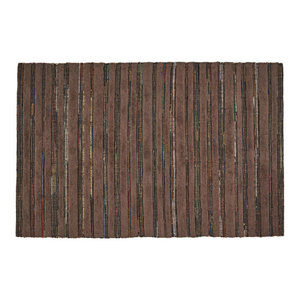 Carson Handwoven Indoor Area Rug Contemporary Kitchen Mats By Home Weavers Inc