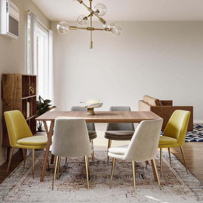 Dining room photo in Denver