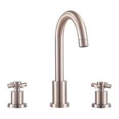 "Avanity Messina 8"" Widespread Bath Faucet, Brushed Nickel"